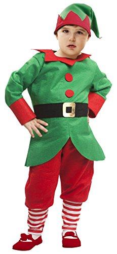 Imagen de my other me  disfraz de elfo para niño, 1 2 años viving costumes 203815