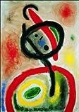 quadri & cornici HB - Mirò ' Dona III, 1965 ' quadro,stampa su legno, poster su legno, bordo nero