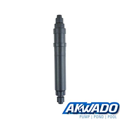 AKWADO Aquarium UV-C 10W 800l/h, Super gegen Algen (Klare Filter Fish Tank)