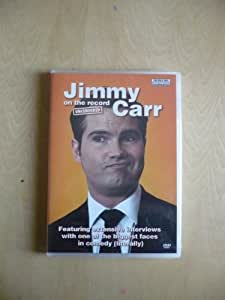 Jimmy Carr -On The Record [DVD]