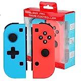 Wireless Controller für Nintendo Switch,Powcan 2er-Set Links Rechts Kabelloser Bluetooth Gamepad...