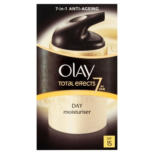 Olay Total Effects 7-in-1 Anti-Ageing Day Moisturiser SPF15 37 ml (Packaging Varies)