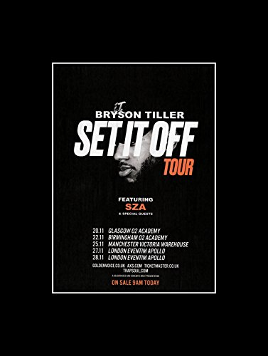 Stick It On Your Wall Bryson Gartenfräse – Set IT OFF Tour 2017 Mini Poster – 40,5 x...