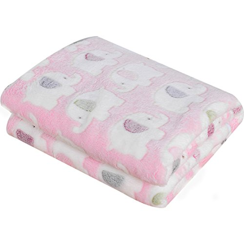 Cute Warm Pet Mats Elephant Print Soft Blanket for for sale  Delivered anywhere in UK