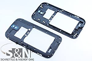 NG-Mobile Original HTC ONE SV Mittelgehäuse Cover Rahmen Kamera Linse, schwarz