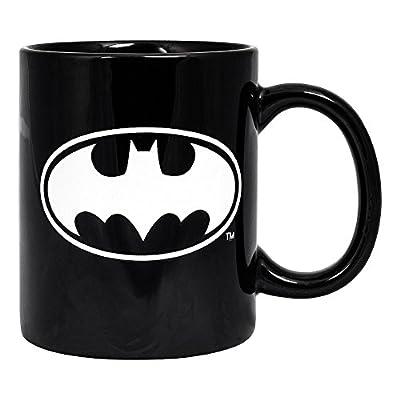 Mug - Tasse A Café Logo Batman Phosphorescent (Noir)