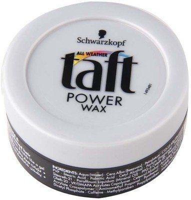 Schwarzkopf Professional Taft Power Wax Hair Styler, 75 ml