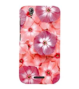 PRINTSHOPPII FLOWER Back Case Cover for Acer Liquid Z630