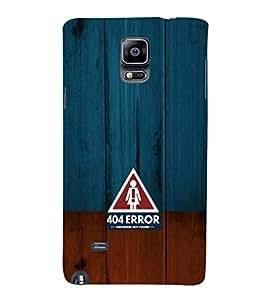 EPICCASE 404 Error Girlfriend not found Mobile Back Case Cover For Samsung Galaxy Note 4 (Designer Case)