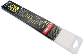 Fartools 150703 Electrode de soudure Type de baguette Rutile Diamètre 1,6 mm Longueur 300 mm Nombre de baguettes x50
