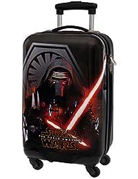 Star Wars The Force Maleta de Cabina Rígida, 33 Litros, Color Negro