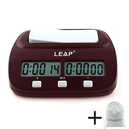 Professioneller Kompakt Elektronisch Tafel Spiel Wettbewerb Uhr Schachuhr, Digital Chess Clock Count Up Down Uhr Timer für Board Schach Spiel Player Mit Alarm-Funktion