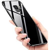 Coque Galaxy S9, Infreecs Liquid Crystal Housse Galaxy S9 Souple Coque TPU Bumper Etui avec Absorption de Choc et Anti-Scratch Coque De Protection Silicone Coque Pour Samsung Galaxy S9 Case Cover- Transparent
