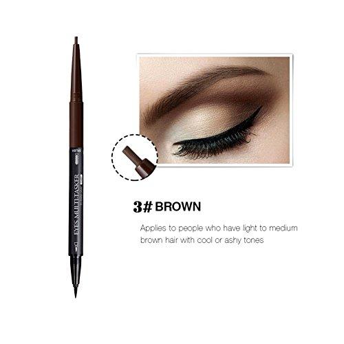 Augenbrauen Farben Tattoo Stift Liner Woya Lange andauernd wasserfest Augenbrauen Makeup (A3)