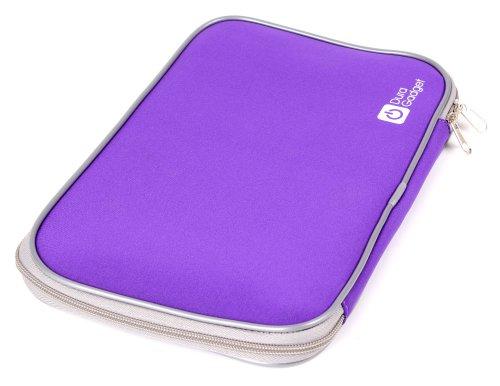 DURAGADGET 9 Zoll Neopren-Hülle für BQ Aquaris M10 Ubuntu/Archos 94/101 Magnus & 101 Magnus Plus Tablet PCs (Violett)