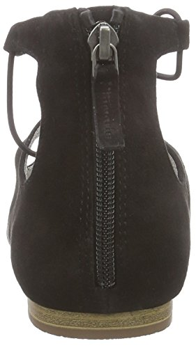 Tamaris - 24220, Esclave Sandalia Femme Noire (schwarz (black Suede 004))