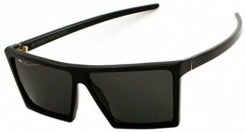 SUPER by Retrosuperfuture W-Sonnenbrille in schwarz SUPER 298 58 Grey
