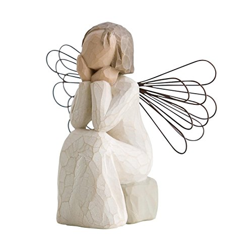 Willow Tree 26079 Figur Engel der Fürsorge, 3,8 x 3,8 x 10,2 cm -