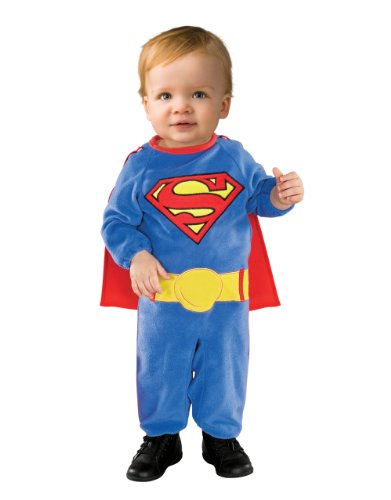 Kostüm, Superman-Kostüm, Superman Kinder Strampler, Newborn/0-6 (0 3 Monat Superman Kostüm)