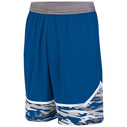 Augusta Sportwear -  Pantaloncini  - Uomo ROYAL/GRAPHITE/WHITE