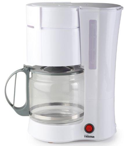 Tristar KZ-1230 Libera installazione Macchina da caffè con filtro 1.2L 12tazze Bianco macchina per caffè