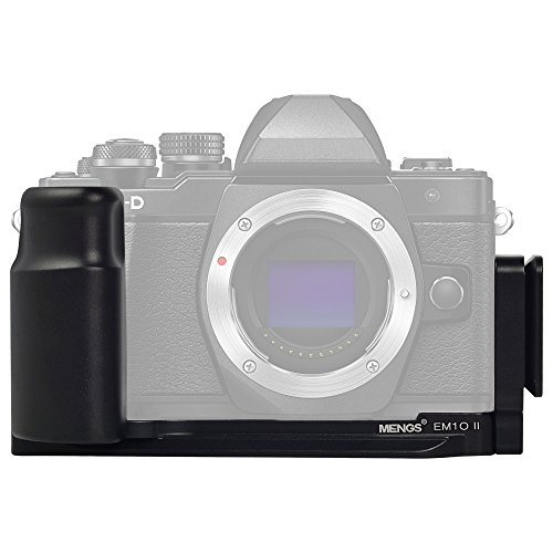 'Mengs® E-M10II with 1/4Camera screw L-Shaped Quick Release Plate for Olympus OM-D E-M10II Camera