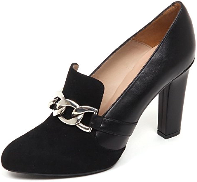 UNISA E6432 Decollete    Black Prato chaussures  Decollete Leather/Suede Shoe FemmeB07D7ZC7L3Parent 7e191f