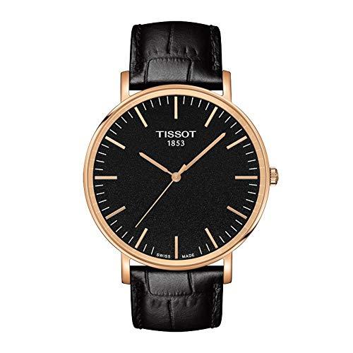 Tissot Reloj Analógico para Unisex Adultos de Cuarzo con Correa en Cuero T1096103605100