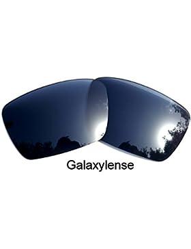 Galaxylense lentes de repuesto para Oakley Fuel Cell Negro Color Polarizados