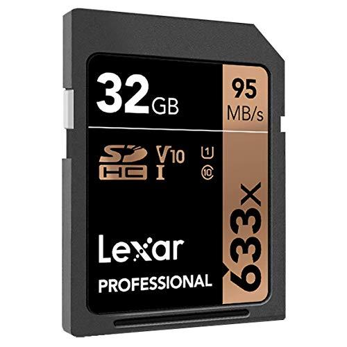Tarjetas Lexar Professional 633x 32GB (2 Paquetes) SDHC UHS-I