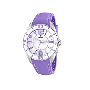 Festina - F16492/4 - Montre Femme - Quartz - Analogique - Bracelet Plastique Violet
