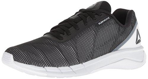 Reebok Men's Fast Flexweave Running Shoe white/black/spirit white