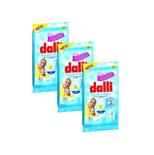 Dalli Trocknertücher Genießen Sie das Erlebnis flauschig weicher und frisch duftender Wäsche (3x25)