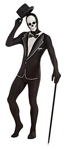rum Novelties ac607Tuxedo Kostüm Skelett Disappearing Man, 106,7cm (Zucker Skelett Kostüme)