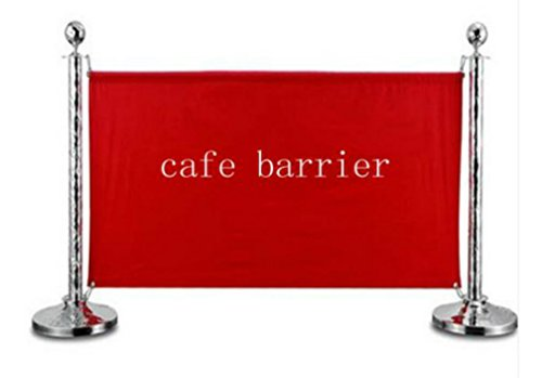 Custom Printed PVC 500gsm Banners (one-side) for Cafe Barriers and Queque Mgmt. (Large 1800mm (Pack of 5))