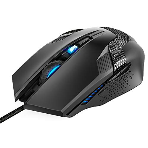 TeckNet Raptor M268 Six Button 3200DPI Gaming Mouse  Black