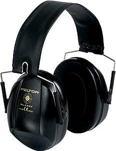 3M PELTOR Bull's Eye I Earmuffs, 27 dB, Black, Foldable, H515FB-516-SV