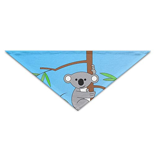 Gxdchfj Cartoon Australian Koala Turban Triangle Scarf Bib Scarf Accessories Pet Cat and Baby Puppy Saliva Dog Towel