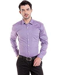 Donear NXG Mens Formal Shirt_SHIRT-C113-PURPLE