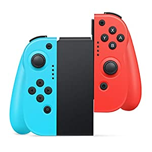Wireless Controller für Nintendo Switch, Timoom 2er-Set Replacement Joy Con Links Rechts Kompatibel für Nintendo Switch Kabelloser Bluetooth