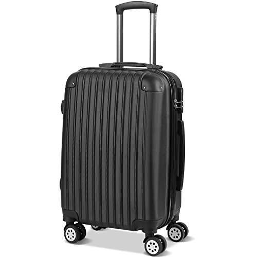 Valises Cabine - Bagage Cabine - Valise Cabine 55x35x25 - Valise Avion Ccabine - Valise Taille - Valise 4 Roues- Bagage Cabine Air France - ABS -20 Po...
