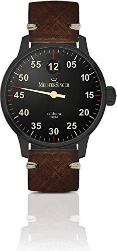 MeisterSinger N°03 Black Line AM902BL Single Hand Automatic Watch