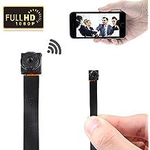 GZDL HD 1080P mini super pequeño portátil ocultos espía cámara P2P inalámbrico WiFi Internet interior grabador de vídeo para los hogares de coches Baños Kids Remote View