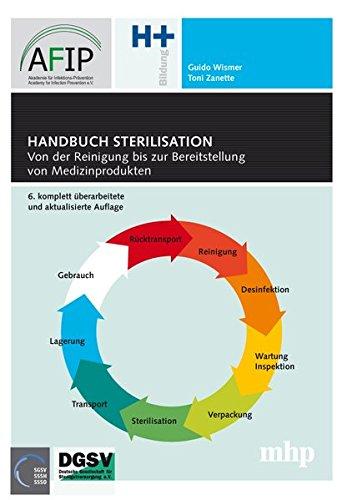 Handbuch Sterilisation.: Von der Reinigung bis zur Bereitstellung von Medizinprodukten.