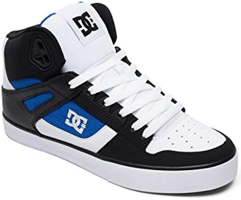 Zapatos DC Pure WC Negro-Blanco