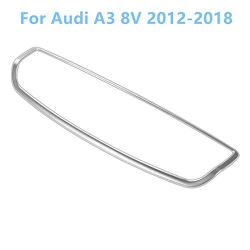 für A3 8V 2012-2018 Edelstahl Mittelkonsole Interieurleisten