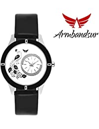 Armbandsur designer dial Black watch for women-ABS0069GBB