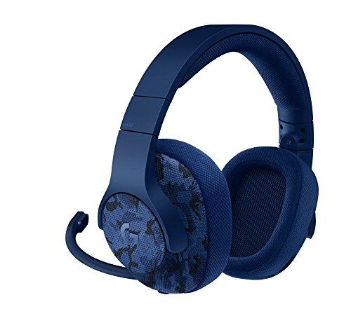 Logitech G433 Cuffia con Microfono per Giochi Cablata, Audio Surround 7.1, per Pc, Xbox One, PS4, Switch, Dispositivi Mobili, Blu Camouflage - Confronta prezzi