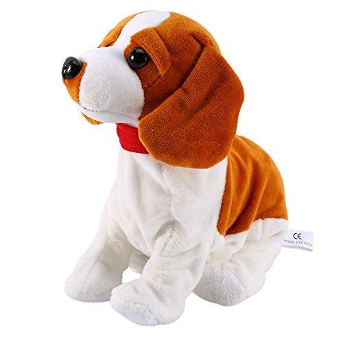 Control electrónico de Sonido para Perros, Interactivo, Cachorro, Robot Mascota, Soporte de Corteza para Perro, Paseo, Juguetes Suaves para niños