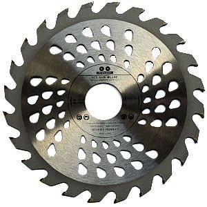 Lame de scie circulaire de qualité supérieure (Skill Scie) 180mm x 20mm pour les disques de coupe de bois circulaire 180mm x 20mm x 24dents